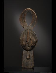 Cimier buffle Chamba Nigeria