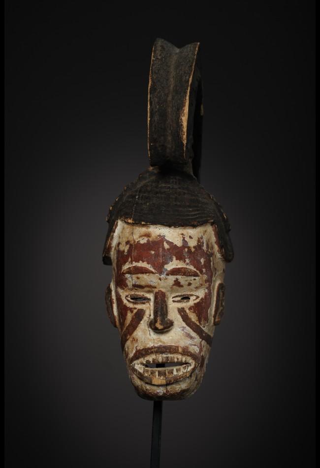 Masque facial Igbo Ikorodo Nigéria