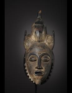 Masque Baoulé Idioma Cote d'Ivoire