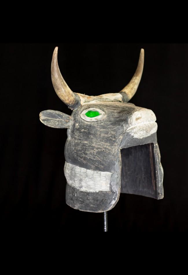 Masque Taureau Essenie Bijago Guinée Bissao
