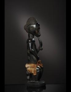 Statue Baoulé Côte d'Ivoire