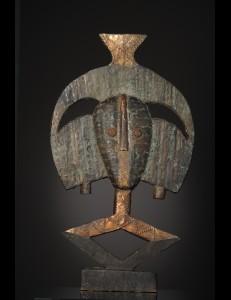 Figure Gardien de reliquaire Ndassa Bakota Gabon