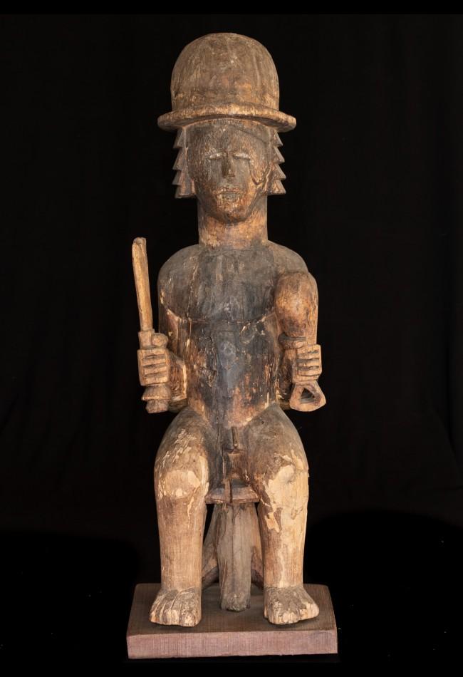 Statue tombale Yombe RDC