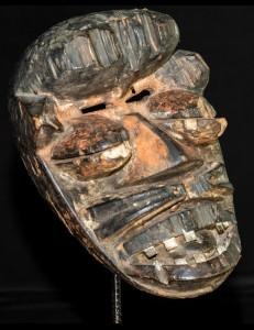 Masque Wobé-Guéré Libéria -Cote d'Ivoire