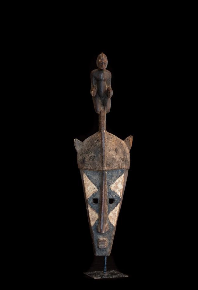 Splendide masque Bambara Mali