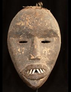 Masque à dents Dan Côte d'Ivoire