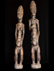 Couple Baoulé - Cote d'Ivoire