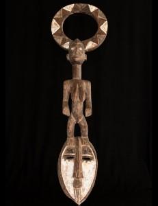 Masque Karan-Wemba Mossi Burkina-Faso