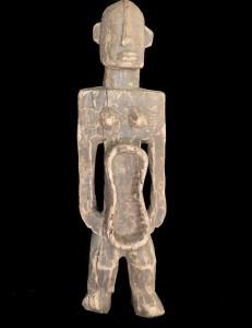 Statuette coupe Koro Nigéria