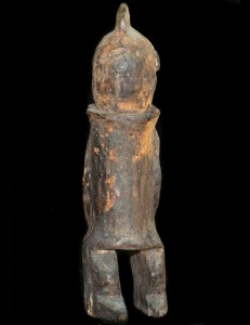 Statue Anthropomorphe Chamba Nigeria